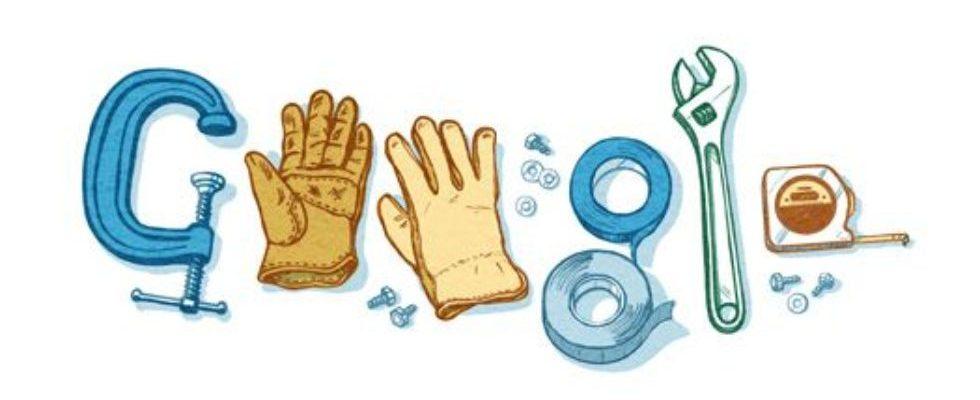 Google Doodle von heute: Tag der Arbeit