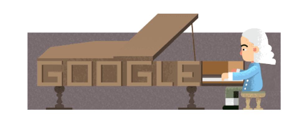Google Doodle von heute: Erfinder des Pianos
