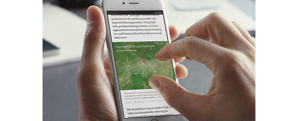 """Rollout der Facebook """"Instant Articles"""": Bild und Spiegel als Pioniere dabei"""