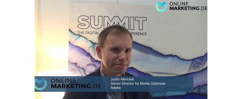 """""""Deutsche Kunden schätzen Technologie, wollen verstehen und die Kontrolle haben"""" – Justin Merickel, Adobe"""