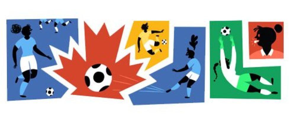 Google Doodle von heute: Frauenfußball-Weltmeisterschaft