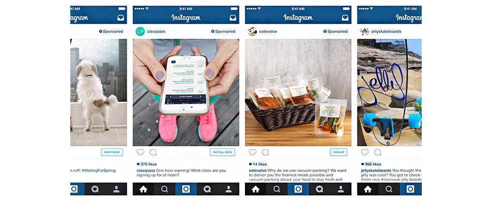 Targeting und Direct-Response: Instagram erweitert Werbeprogramm um sinnvolle Formate