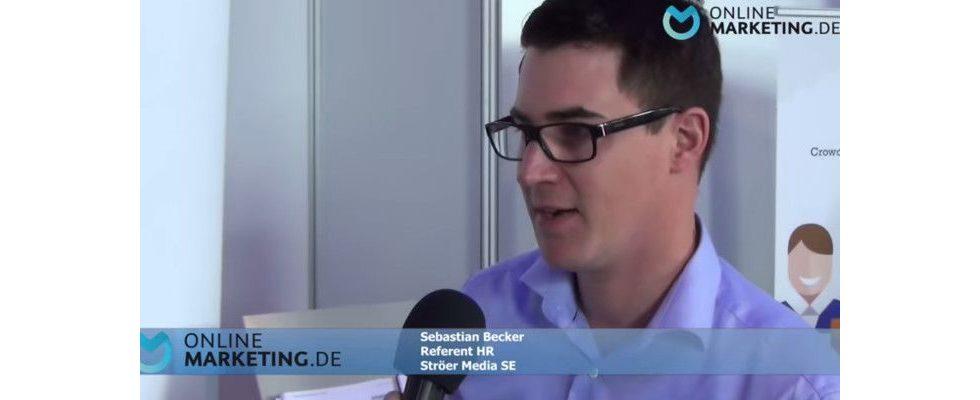 """""""Der Notendurchschnitt interessiert nicht"""" – Sebastian Becker, Ströer Media SE"""