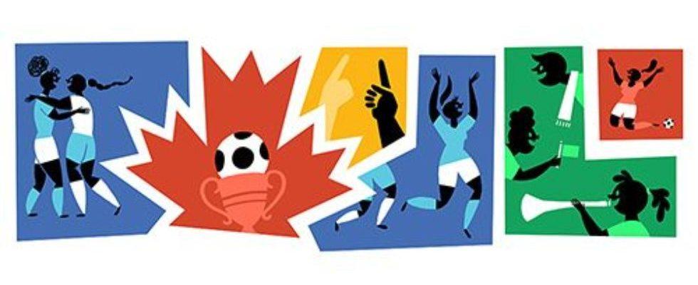 Google Doodle von heute: Frauen Fußball-Weltmeisterschaft Finale 2015