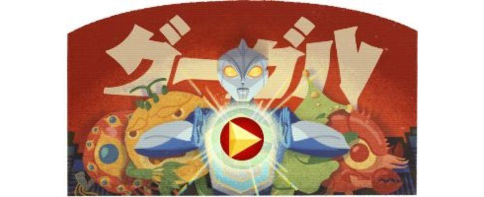 Google Doodle von heute: Eiji Tsuburaya