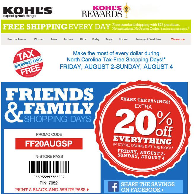 kohls-tax-free-shopping
