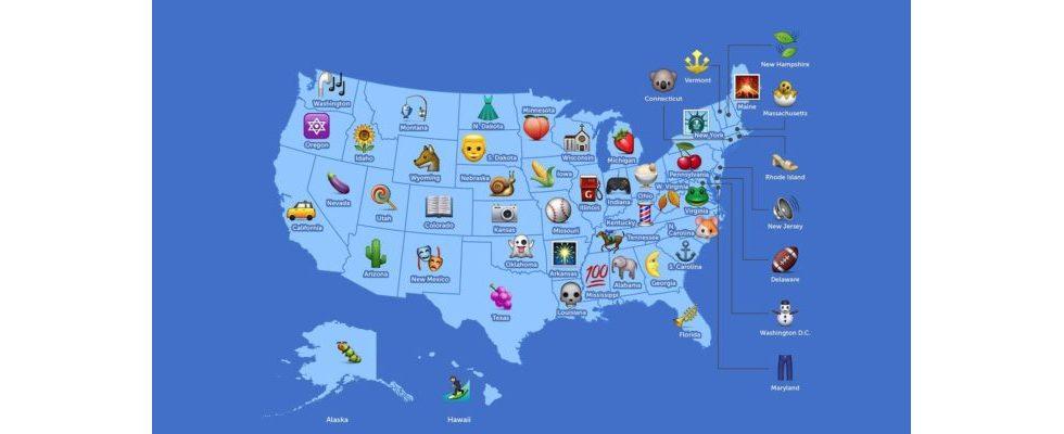 Emojis: Sag mir, welchen du nutzt und ich sage dir, woher du kommst