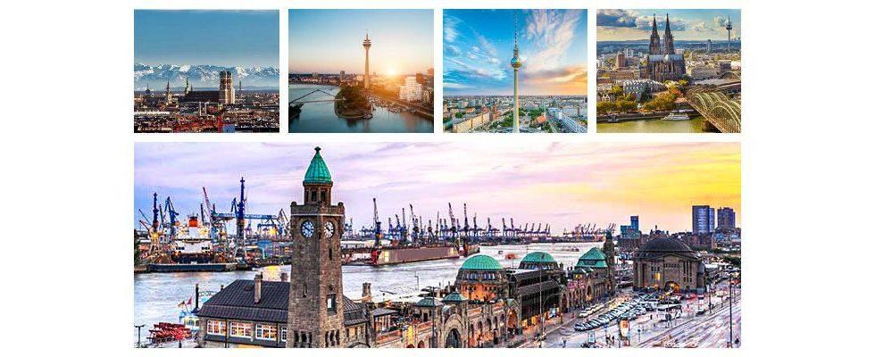 5 deutsche Städte, die zu Recht die größte Bedeutung für das Online Marketing haben