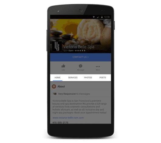 Facebook Mobile Update: Überarbeitetes Layout