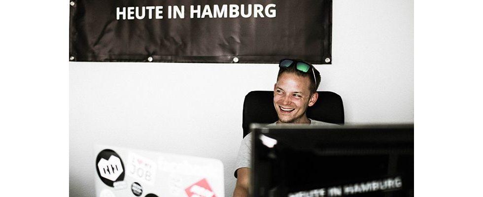 HEUTE IN HAMBURG: Eine Nische, eine App und eine Stadt, die dir zu Füßen liegt