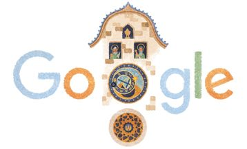 Google Doodle von heute: Prager Rathausuhr