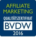 Das Affiliate Marketing Siegel des BVDW