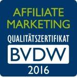 Das Affiliate Marketing Siegel des BVDW