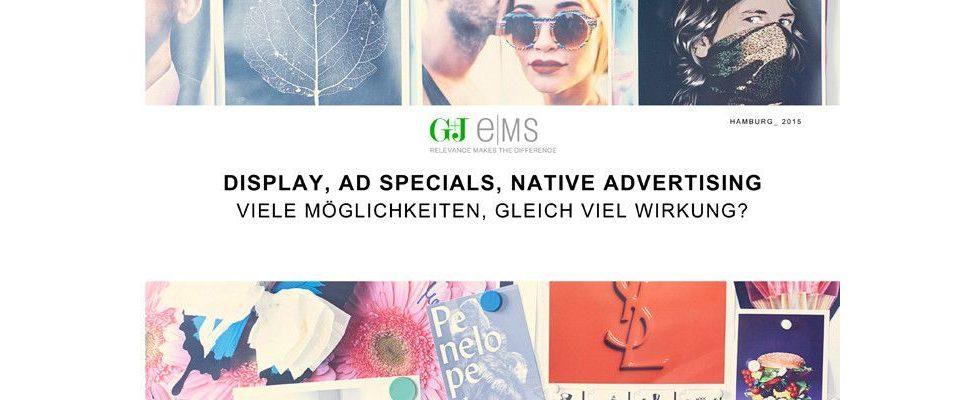 Display, AdSpecials oder Native Advertising – was wirkt am Besten? [Sponsored]