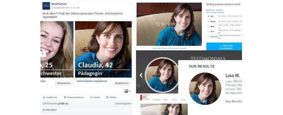 Mit Stockphotos auf Kundenfang: Wie ElitePartner mit falschen Testimonials wirbt