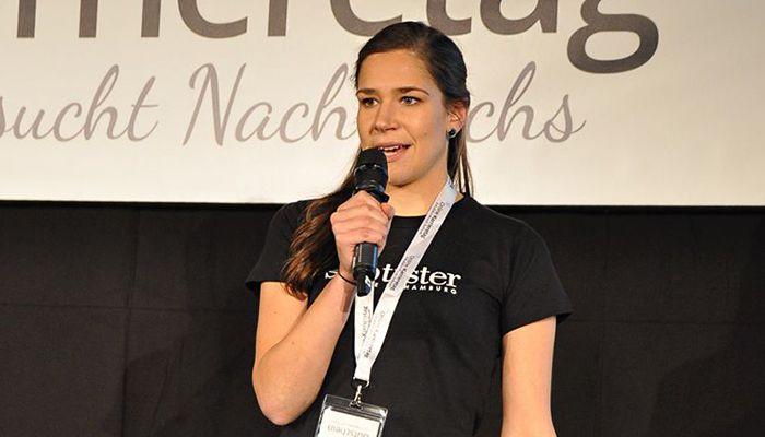 Freya Oehle, Gründerin von Spottster