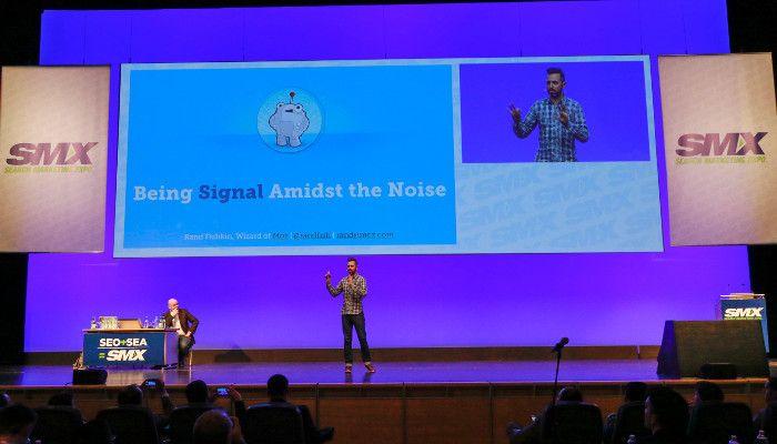 Rand Fishkin auf der Search Marketing Expo 2015, © Rising Media