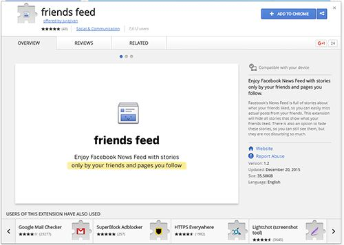 Friends-Feed
