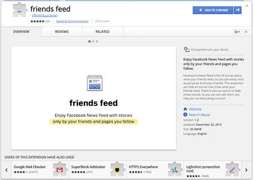 Friends-Feed