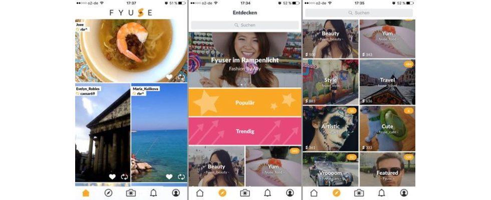 Fyuse: Das schnell wachsende soziale Netzwerk bietet Fotos mit Perspektive