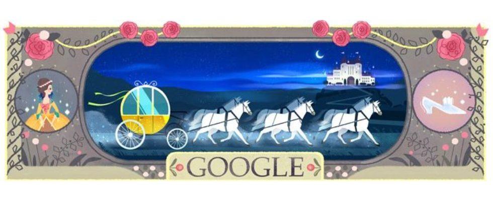 Google Doodle von heute: Charles Perrault