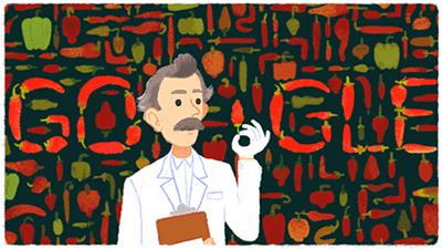 Google Doodle von heute: Wilbur Scoville