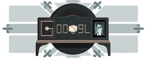 Google Doodle von heute: Mechanischer Fernseher