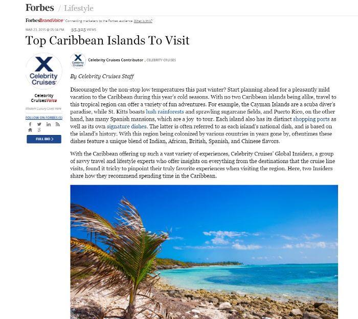 Sponsored Post auf Forbes.com, Screenshot der Seite