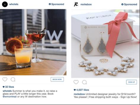 © marketingland, Instagram Branding Beispiele