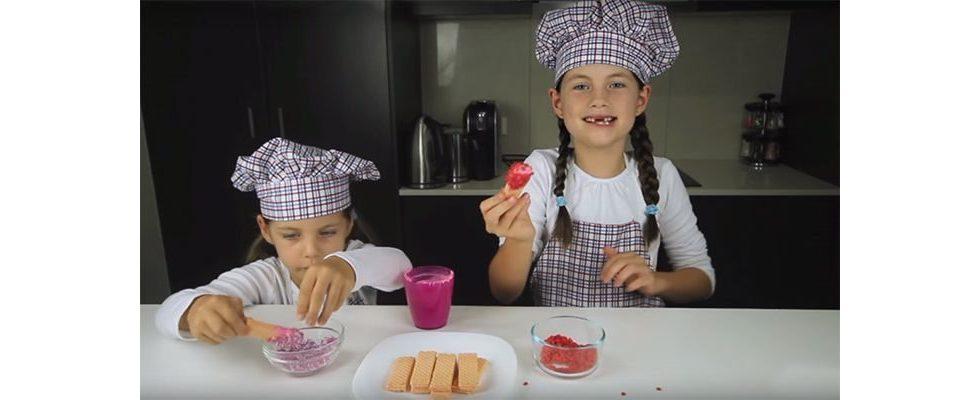 Influencer von der Pike auf: Wie zwei kleine Mädchen auf YouTube mit Backen Millionen verdienen