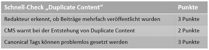Checkliste_Duplicate-Content