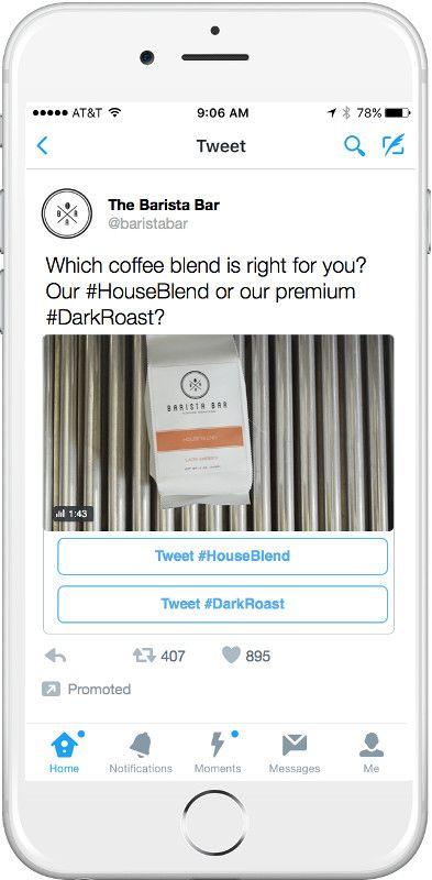 Twitter Conversational Ads - CTA