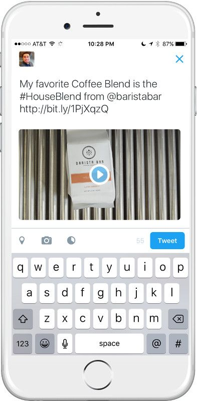 Twitter Conversational Ads - Tweet