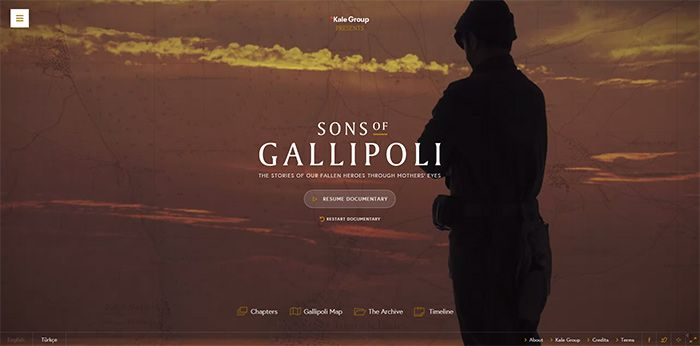 © Sons of Gallipolli