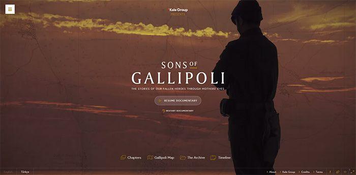 © Sons of Gallipolli