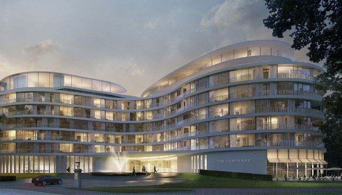 So soll das Hotel Ende des Jahres aussehen, © THE FONTENAY Hamburg