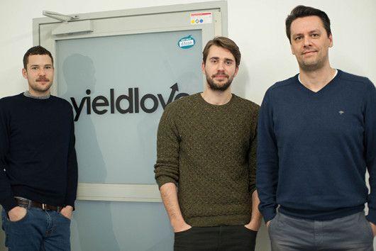 Die drei Gründer Timo Hagenow, Benjamin Gries und Ivan Tomic (vrnl)