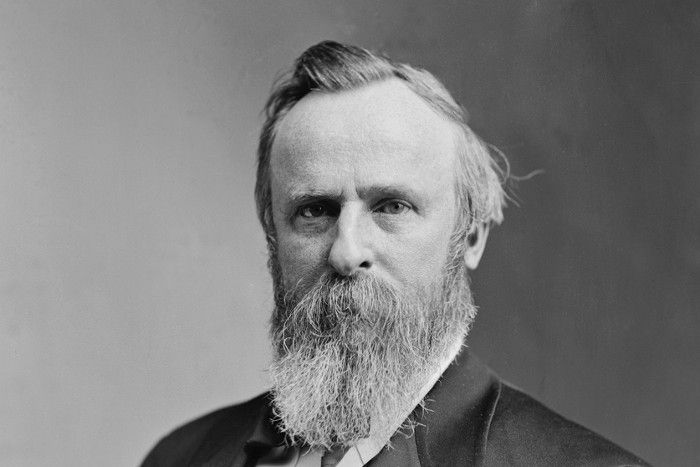 U.S.-Präsident Rutherford B. Hayes 1876 , © Flickr / Opus Penguin, CC BY-SA 2.0