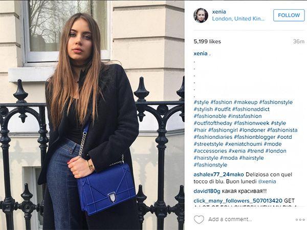 @xenia hat es mit diesem Post in die Top Posts des Hashtags Fashionblogger geschafft - mit mehr als 742.000 Followern kann sie es sich leisten, das populärere Hashtag Fashionblogger zu nutzen.