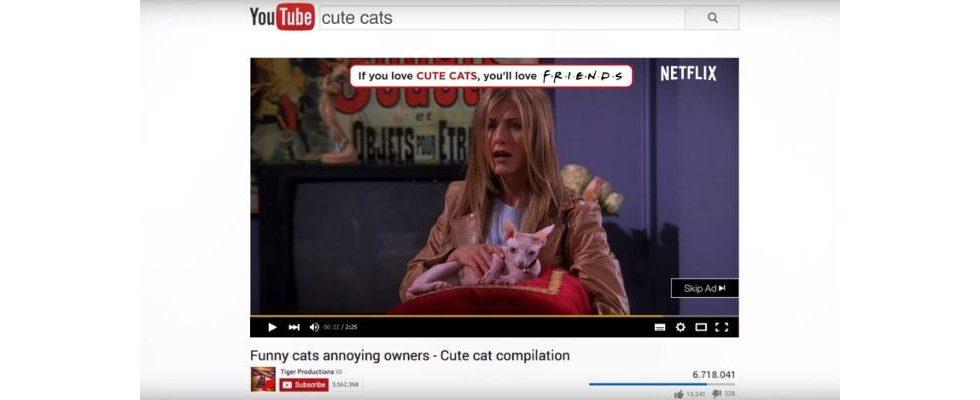 Lustige Preroll Ads für Friends – Wie Netflix intelligent mit Nostalgie punktet