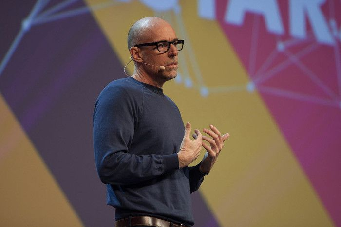 Marketing-Professor und Adele-Double Scott Galloway, © Tina Bauer / OnlineMarketing.de