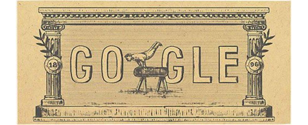 Google Doodle von heute: moderne olympische spiele