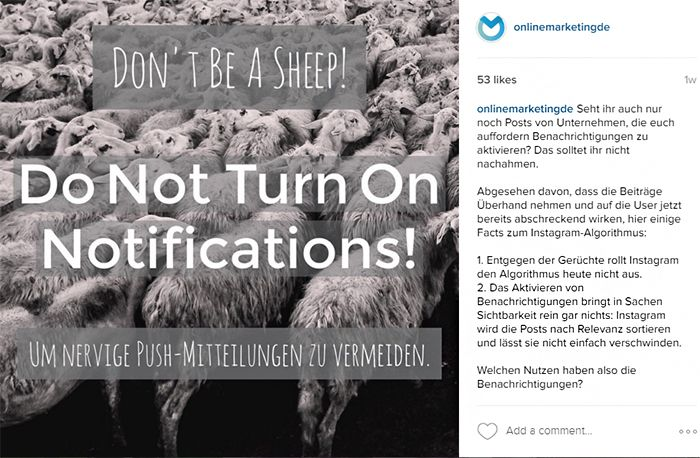 OnlineMarketing.de | Instagram