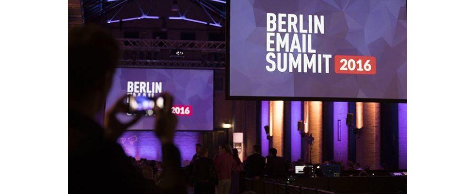 So war's: Das BERLIN EMAIL SUMMIT 2016