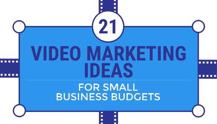 Infografik - Video Marketing Ideas For Small Budgets by Venngage_preview