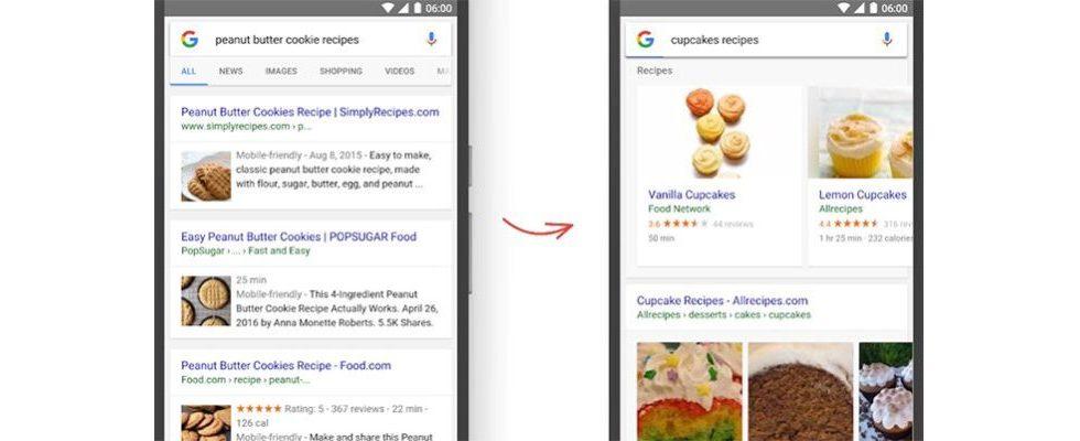 Rich Snippets werden abgelöst: Google Rich Cards polieren mobile SERPs auf