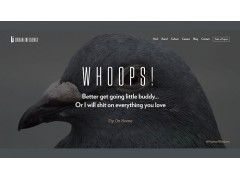 Die 404-Seite von urbaninfluence.com
