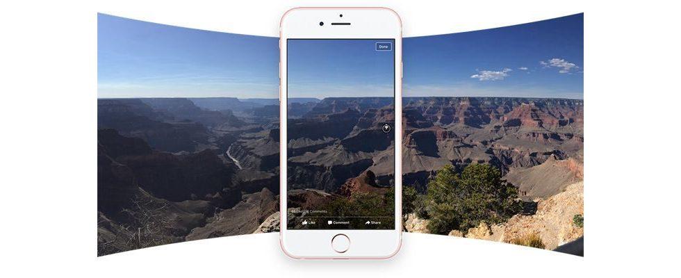 Schau dich um: Facebook führt spannende 360 Grad Fotos ein