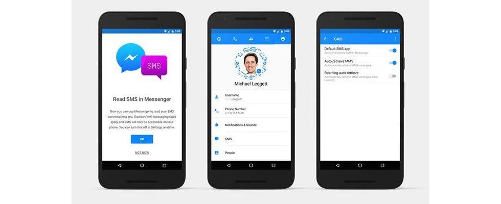 Facebook: SMS können jetzt in den Messenger integriert werden