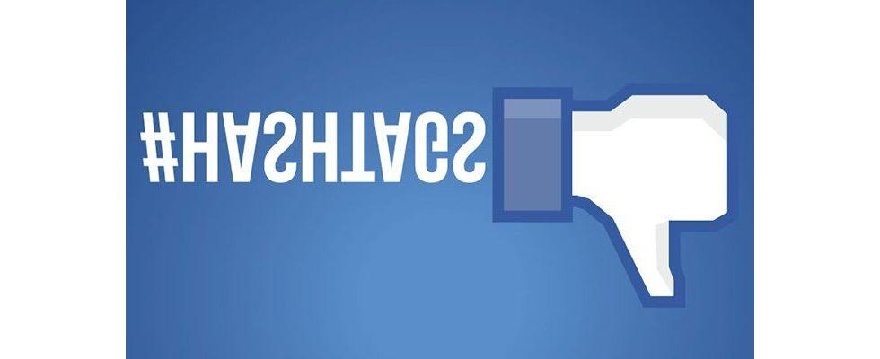 Hashtags auf Facebook: Wie sie sich auf die Interaktionen auswirken